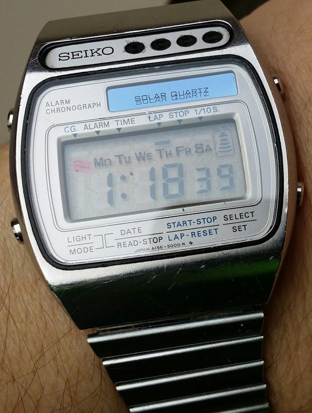orologio casio batteria